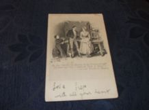 ANTIQUE POSTCARD HILDESCHEIMER UNDIVIDED BACK PICKWICK PAPERS SAM EMMA